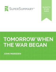 Tomorrow When The War Began: Introduction and Review